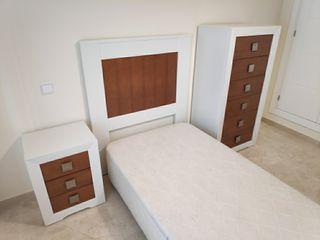 Conjunto para habitación - cama de 90cm