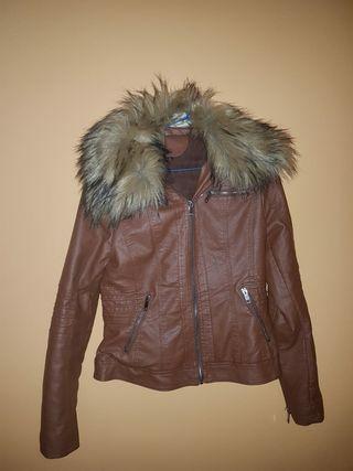 chaqueta de piel