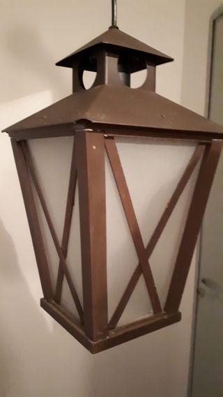 lámpara de techo tipo farol