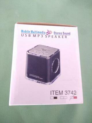 My Music Box -Altavoz Cub Multimedia - Nuevo -