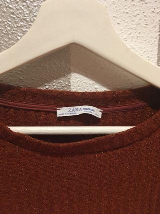 Camiseta de punto de Zara