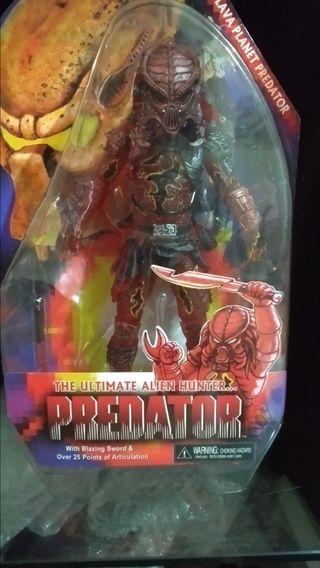 Neca Predator Lava Planet.
