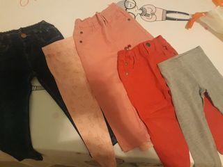 lote pantalones 2-3 años