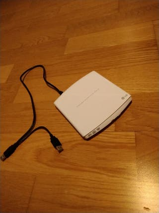 Lector DVD ordenador portátil LG