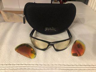 Gafas spiuk con dos cristales