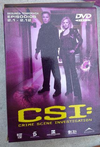 CSI temporada 2 DVD