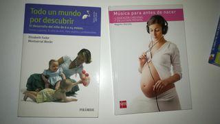 libros Bésame mucho; Música para antes de nacer;