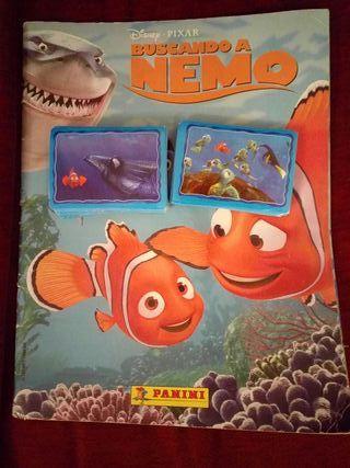 Cromos Buscando a Nemo