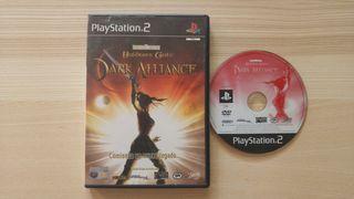 Baldur's Gate Dark Alliance Ps2