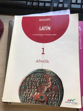 Libro de latin 1 Bach