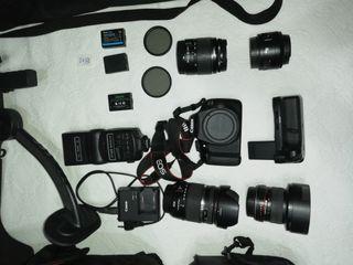 Canon 1200D objetivos y acesorios