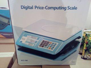 báscula digital,