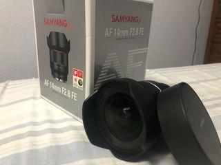 samyang 14mm 2.8 montura E fullframe