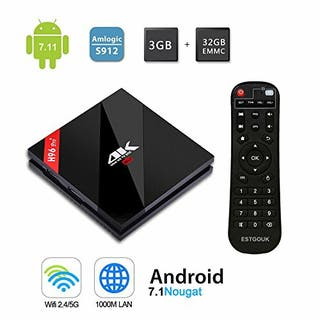 Android TV H96 PRO PLUS 3GB RAM 32GB MEMORIA NUEVO