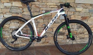"""Bici montaña MASSI PRO 29"""" Elite Carbon"""