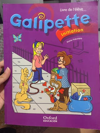 Libro de Francés Galipette initiation