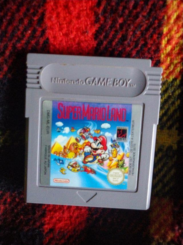 juego súper Mario land para gameboy clásica