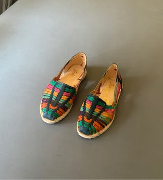 Sandalias huarache artesanales, de piel y nuevas