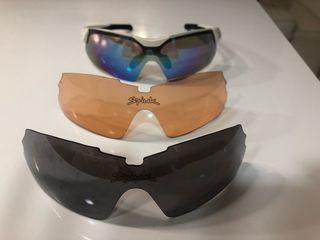 Gafas spiuk con 3 cristales