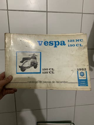 Catálogo de piezas de recambio VESPA125CL