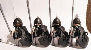 Lote Pretorianos 4 Playmobil roma romano
