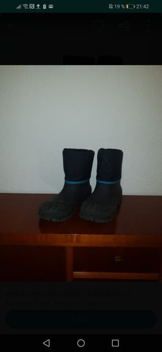 botas agua nieve niño