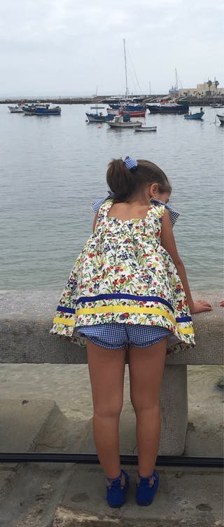 Jesusito con braga tipo Eva Castro 5/6 años.