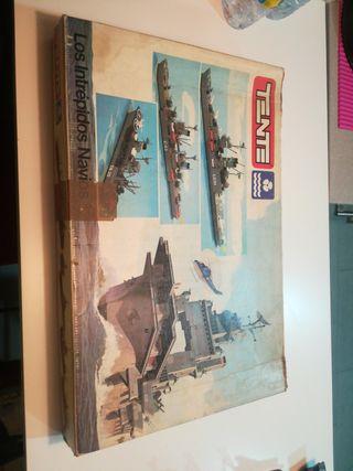 los intrepidos navios. ref. 0551