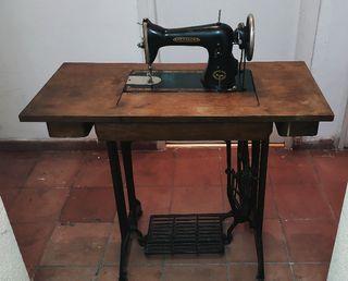 Máquina de coser Hexagon, de SINGER, 1902