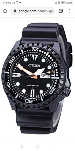 Reloj citizen automático.