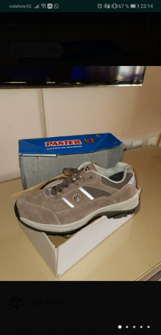 Zapatos de Seguridad, talla 41