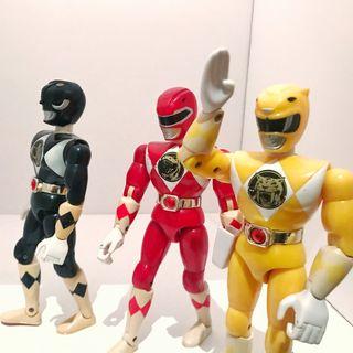 Lote Power Rangers Karate