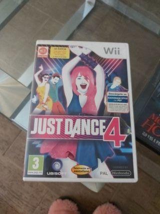 videojuego wii. JUST DANCE 4