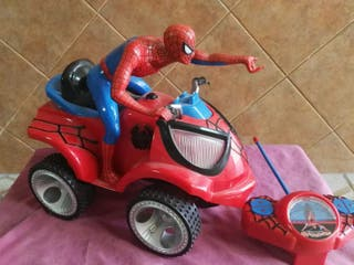 Moto Quad rc Spiderman
