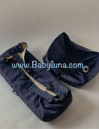 Capazo y cesta Bugaboo Camaleon Navy Blue