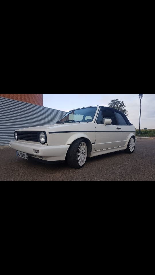 Volkswagen Golf mk1 Cabrio 1990