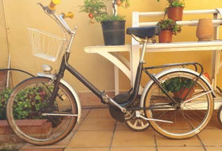 Bicicleta BH plegable Vintage
