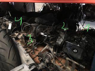 Motor Hyosung, Peugeot, Piaggio, Honda, Suzuki
