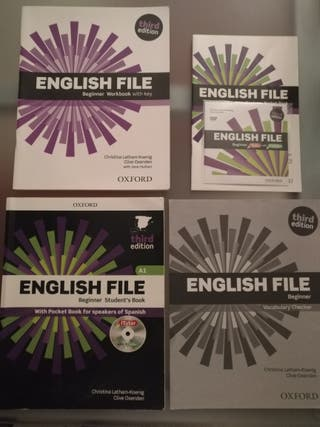 Libros de inglés EOI Nivel A1