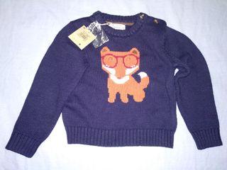 Jersey de lana niño