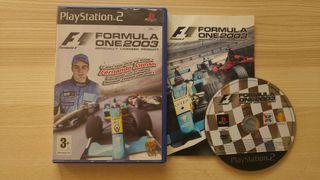 Formula One 2003 Ps2