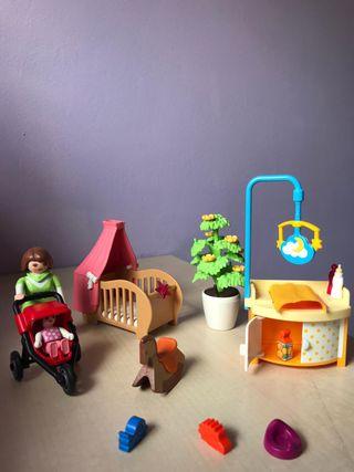 Playmobil habitación bebe