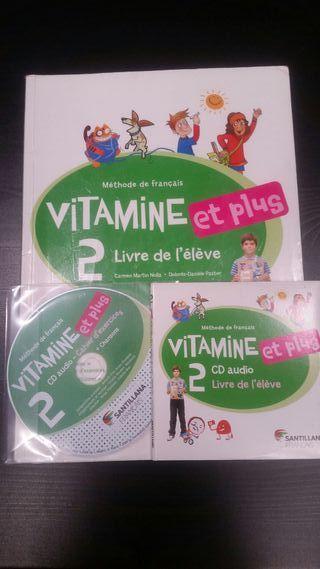 Libro de Francés Vitamine et plus 2