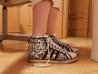 Zapatillas de saten Adidas