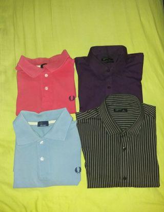 Lote polos y camisas