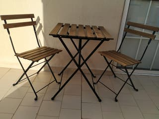 Conjunto plegable Ikea