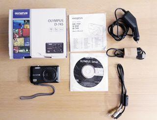 Olympus D-745 cámara fotográfica