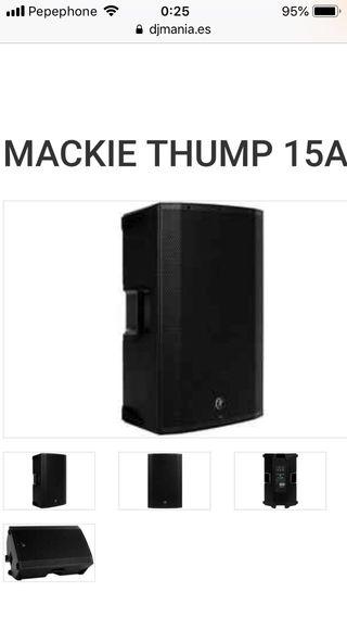 Altavoz autoamplificado Mackie Thump 15 A nuevo