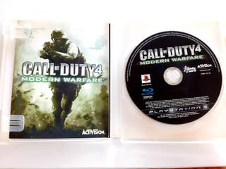 videojuego Call of duty 4. PlayStation 3