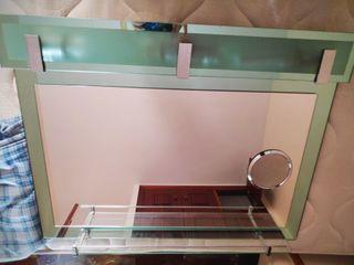 espejo de baño vintage
